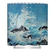 Wild Blue Too Shower Curtain