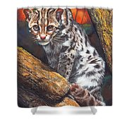 Wild Cat Shower Curtain