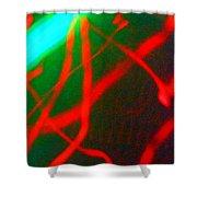 Wild Colour Shower Curtain