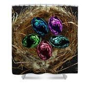 Wild Eggs In My Nest Shower Curtain