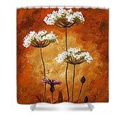Wild Flowers 041 Shower Curtain