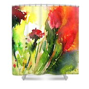 Wild Flowers 09 Shower Curtain