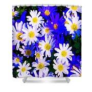 Wild Flowers 3 Shower Curtain