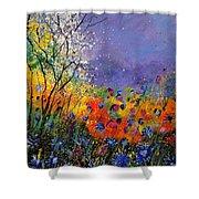 Wild Flowers 4110 Shower Curtain