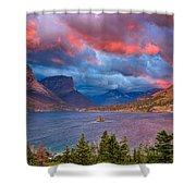 Wild Goose Island Overlook September Sunrise Shower Curtain