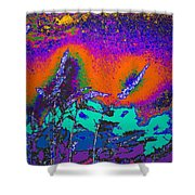Wild Grasses And Sunset Shower Curtain