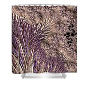 Wild Grasses Blowing In The Breeze  Shower Curtain