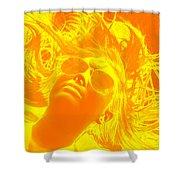 Wild Hair Shower Curtain