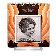 Wild Honey Shower Curtain