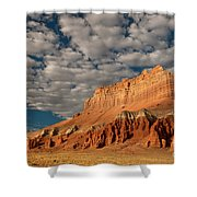 Wild Horse Butte Goblin Valley Utah Shower Curtain