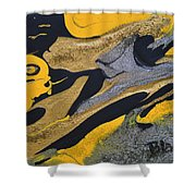 Wild Horse Cry Shower Curtain