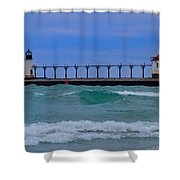 Wild In Saint Joe's Shower Curtain by John Absher