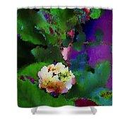 Wild Jasmine Shower Curtain