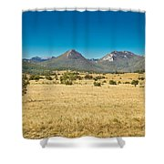 Wild Landscape Of Lika Region Croatia Shower Curtain