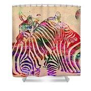 Wild Life 3 Shower Curtain