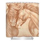 Wild Love Shower Curtain