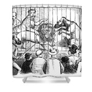 Wild Men Of Wall Street Shower Curtain