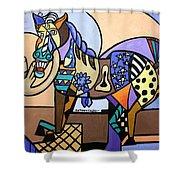 Wild Pony Shower Curtain