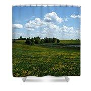 Wild Prarie Shower Curtain