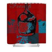 Wild Still Life - 0102b - Red Shower Curtain