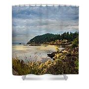 Wildcat Cove Shower Curtain by Robert Bales