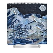 Wilderness Sky Shower Curtain