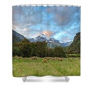 Wilderness Sunset Shower Curtain