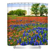Wildflower Tapestry Shower Curtain