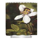 Wildflower Wildlife Shower Curtain