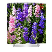 Wildflowers #15 Shower Curtain
