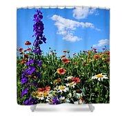 Wildflowers #7 Shower Curtain