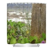 Wildflowers At The Beach Shower Curtain