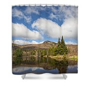 Wildlife Pond - Bethlehem New Hampshire Usa Shower Curtain
