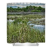 Wildlife Refuge Reflections Shower Curtain