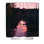 Wildlife Sunset Shower Curtain