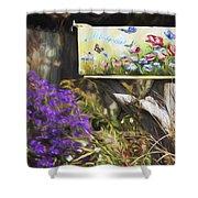 Wildlife's Mailbox Shower Curtain