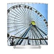 Wildwood Ferris Wheel Shower Curtain