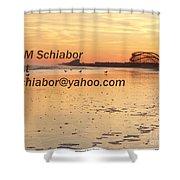 Wildwood Sunset Shower Curtain