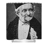 Wilhelm Eduard Weber (1804-1891) Shower Curtain
