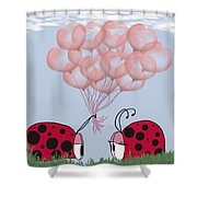 Will You Be Mine? Shower Curtain