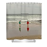 Will You Dare? Shower Curtain
