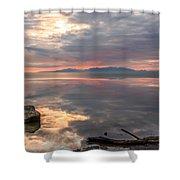 Willard Bay Shower Curtain