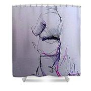 Willem N. Shower Curtain