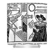 William Abell (c1584-1655) Shower Curtain