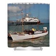 William Allchorn Eastbourne Shower Curtain