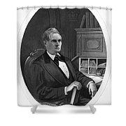 William Almon Wheeler (1819-1887) Shower Curtain