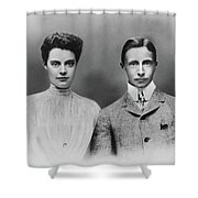 William And Cecilie, C1905 Shower Curtain