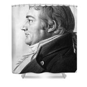 William Augustine Washington IIi Shower Curtain