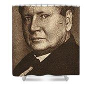 William B Shower Curtain