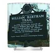 William Bartram Shower Curtain